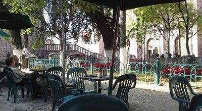 Photo of Cafe Cafe Del Conservatorio at Jardín De Las Rosas, Morelia, Mexico