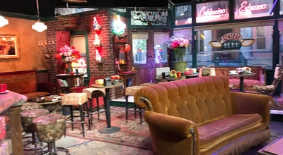 Photo of Cafe Central Perk Cafe at Burbank, Ca, United States