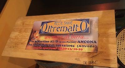 Photo of Brewery Oltremalto at Via S. Martino, 27, Ancona 60122, Italy