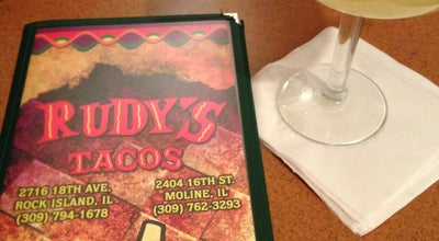 Photo of Mexican Restaurant Rudy's Tacos at 2404 16th St, Moline, IL 61265, United States