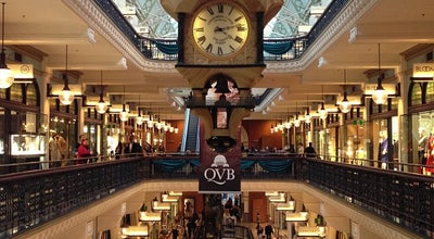 Photo of Mall Queen Victoria Building (QVB) at 455 George St., Sydney, NS 2000, Australia