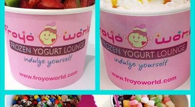Photo of Frozen Yogurt FroyoWorld - Frozen Yogurt Lounge at 157 Harvard Ave, Allston, MA 02134, United States