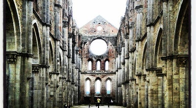 Photo of Church Abbazia Di San Galgano at Loc. San Galgano, Chiusdino 53012, Italy
