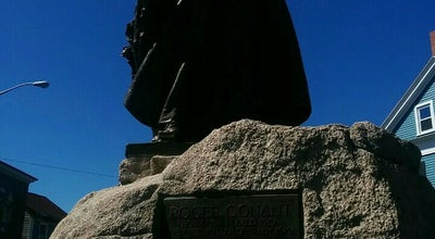 Photo of Historic Site Roger Conant Statue at Salem, MA, United States