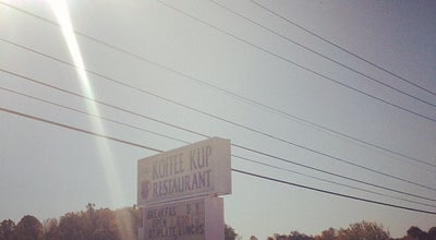 Photo of Diner The Koffee Kup at 22763 Timberlake Rd, Lynchburg, VA 24502, United States