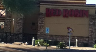 Photo of Burger Joint Red Robin Gourmet Burgers at 8970 E Shea Blvd, Scottsdale, AZ 85260, United States