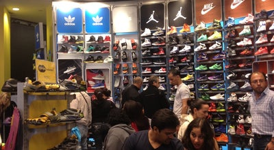 Photo of Sporting Goods Shop Champs Sports at 5 Times Sq, New York, NY 10036, United States