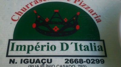 Photo of Pizza Place Império D'Itália at R. Oscar Soares, 793, Nova Iguaçu, Brazil