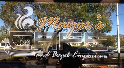 Photo of Bagel Shop Mayor's Cafe and Bagel Emporium at 1677 N Hiatus Rd, Pembroke Pines, FL 33026, United States