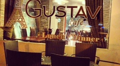 Photo of Cafe Gustav at Macarthur Hwy., Angeles City 2009, Philippines