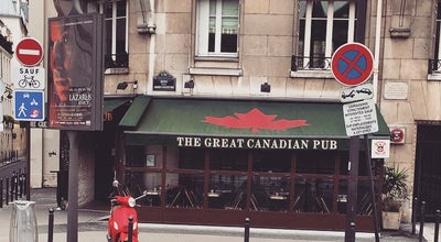 Photo of American Restaurant The Great Canadian Pub at 25 Quai Des Grands Augustins, Paris 75006, France