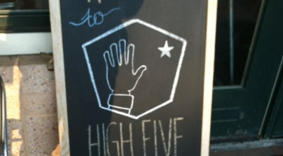 Photo of Coffee Shop High Five Coffee Bar at 190 Broadway St, Asheville, NC 28801, United States