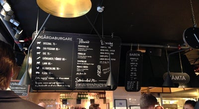 Photo of Burger Joint Vigårda at Norrlandsgatan 13, Stockholm 111 43, Sweden