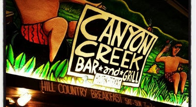 Photo of American Restaurant Canyon Creek at 6603 Westcott St, Houston, TX 77007, United States