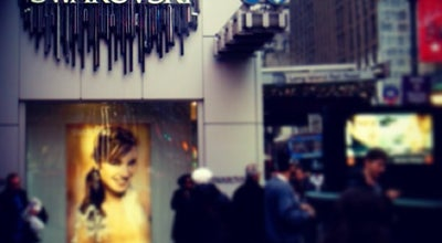 Photo of Jewelry Store Swarovski at 597 5th Ave, New York, NY 10017