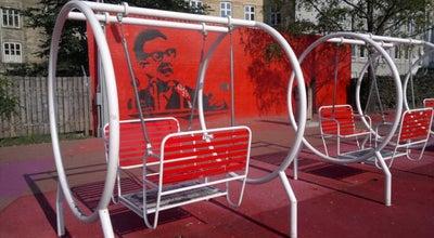 Photo of Playground Den Røde Plads at Nørrebrogade/mimersgade, København 2200, Denmark