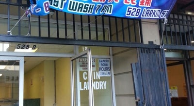 Photo of Laundry Service Superwash Laundromat at 528b Larkin St, San Francisco, CA 94102, United States