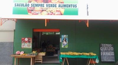Photo of Farmers Market Sacolão Sempre Verde at Rua Cachoeirinha, 325, Jardim Palmeiras, Montes Claros, Brazil
