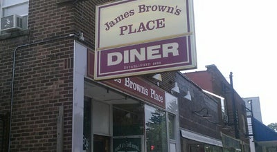 Photo of Diner James Brown's Place at 1356 Culver Rd, Rochester, NY 14609, United States