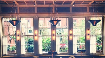 Photo of Modern European Restaurant Chiltern Firehouse at 1 Chiltern St, London W1U 7PA, United Kingdom