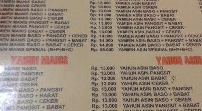 Photo of Ramen / Noodle House Mie Bakso Bejo at Jl Pasar Panorama 34, Lembang, Indonesia