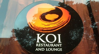 Photo of Sushi Restaurant Koi Restaurant And Lounge at 40 W 40th St, New York, NY 10018, United States