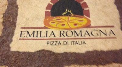 Photo of Pizza Place Emilia Romagna at R. Henrique Moscoso, 265, Lj. 02, Vila Velha 29101-345, Brazil