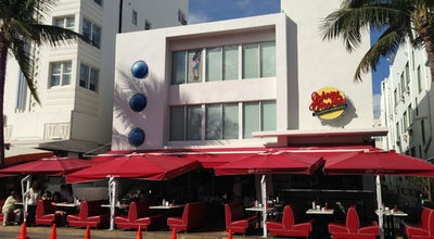 Photo of Diner Johnny Rockets at 728 Ocean Dr, Miami Beach, FL 33139, United States
