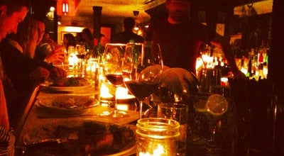 Photo of New American Restaurant Fedora Bar at 239 W 4th St, New York, NY 10014, United States