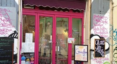 Photo of Ice Cream Shop L'Elephant Rose À Pois Blancs at 3 Rue Des 3 Rois, Marseille 13006, France