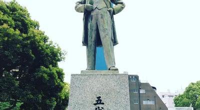 Photo of Outdoor Sculpture 五代友厚像 at 泉町, 鹿児島市, Japan