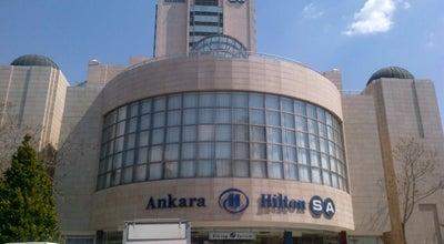 Photo of Hotel Ankara HiltonSA at Kavaklıdere Mh. Tahran Cd. No:12, Ankara 06700, Turkey