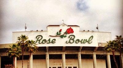Photo of Stadium Rose Bowl Stadium at 1001 Rose Bowl Dr, Pasadena, CA 91103, United States