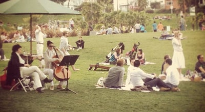 Photo of Park Hipster Beach at Dolores Park at San Francisco, CA 94114, United States