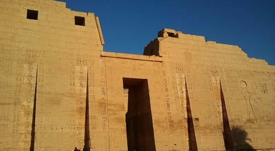 Photo of Historic Site Medinet Habu (Temple of Ramses III) | مدينة هابو at West Bank, Luxor, Egypt