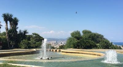 Photo of Park Parc de Montjuïc at Barcelona, Spain