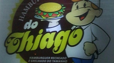 Photo of Burger Joint Hamburgueria do Thiago at Av. Goioere N°1945, Campo Mourão 87300-000, Brazil