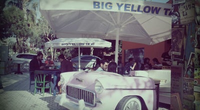Photo of Cafe Big Yellow Taxi Benzin at Ahmet Tokuş Blv. No:40, Alanya 07400, Turkey