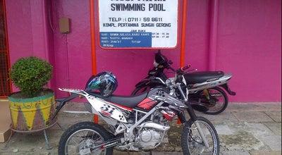 Photo of Water Park Kolam Renang Sungai Gerong at Komperta Plaju Sum-sel, Indonesia