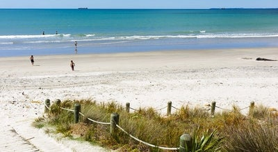 Photo of Beach Omanu Beach at Surf Rd, Mount Maunganui, New Zealand