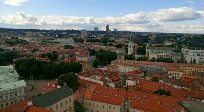 Photo of Historic Site Vilniaus Universiteto Šv. Jonų Bažnyčios Bokštas at Vilnius, Lithuania