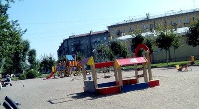 Photo of Playground Детская площадка at Ул. Циолковского, Санкт-Петербург, Russia
