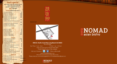Photo of Chinese Restaurant Nomad Asian Bistro at 6563 E Pacific Coast Hwy, Long Beach, CA 90803, United States