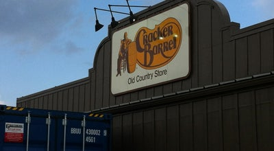 Photo of American Restaurant Cracker Barrel Old Country Store at 2313 South Tanger Blvd. I-10 & Sr 30, Gonzales, LA 70737, United States