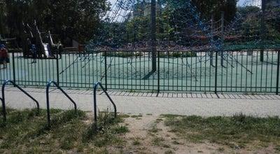 Photo of Playground Płac Zabaw w Parku imienia Romana Kozłowskiego at Puszczyka 12/14, Warszawa, Poland