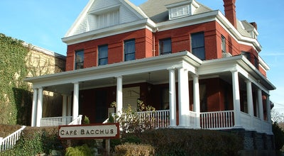 Photo of American Restaurant Cafe Bacchus at 76 High St, Morgantown, WV 26505, United States