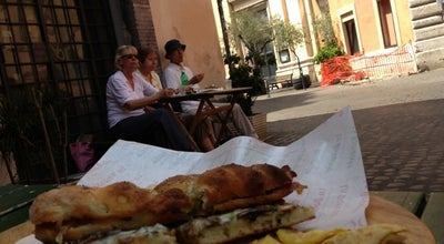 Photo of Pizza Place La Boccaccia at Via Di Santa Dorotea, 2, Roma, Italy