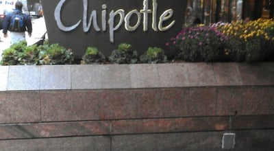 Photo of Mexican Restaurant Chipotle at 152 E 52nd St, New York, NY 10022, United States