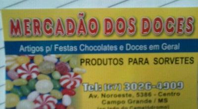 Photo of Candy Store Mercadão dos Doces at R. Anhandui, 5386, Campo Grande, Brazil