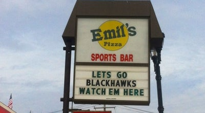 Photo of Pizza Place Emil's Sports Bar & Pizzeria at 604 N Lake St, Mundelein, IL 60060, United States